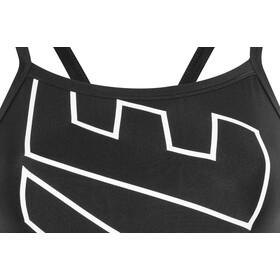 Nike Swim Lodge Racerback One Piece Mujer, black